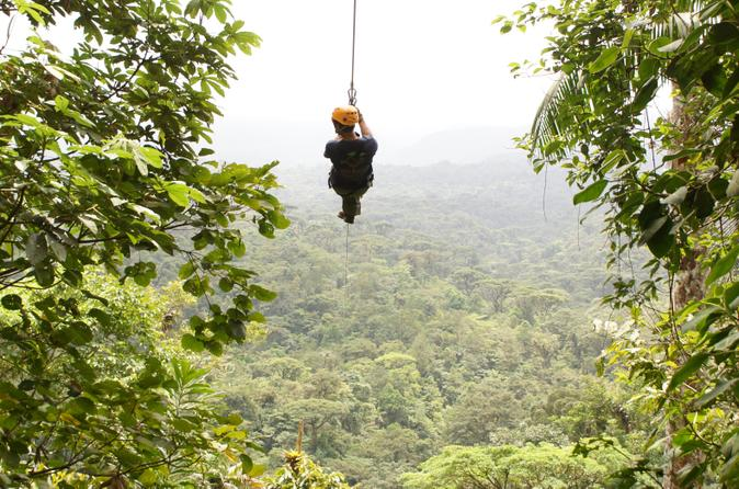 Canopy Zip line Eco-Adventure ... & Canopy Zip line Eco-Adventure Tour - Ask Zipy Places To Be in Costa Rica
