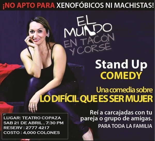 Stand Up Comedy at Teatro COPAZA
