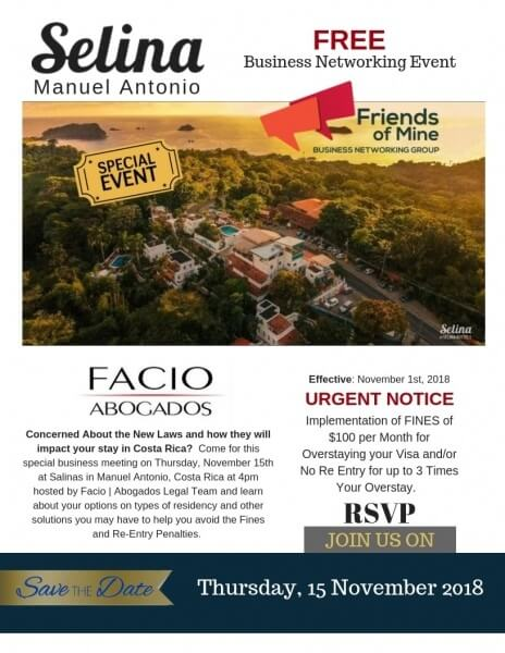 Business Networking Event | Salina Manuel Antonio