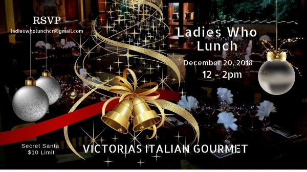 LadiesWhoLunch   Victorias Italian Gourmet Restaurant