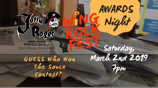 Award Ceremony for Wing Rock Fest Hot Sauce Competitors
