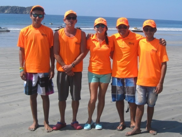 Mary's Rentals Crew - Mary's Rentals crew: Jordi, Mefi, Raul, Mary, and Rey.