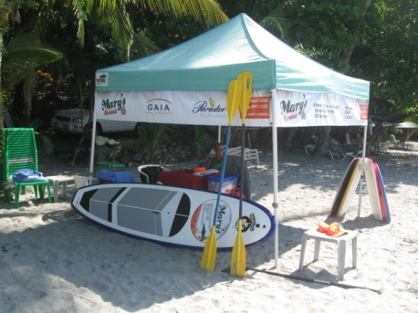Our office! - Look for the tent next to Agua Azules