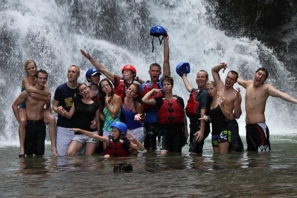 Savegre River Waterfall Stop Pro Rafting CR