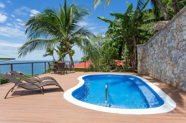 New Pool with Ocean views - Great new pool with waterfall