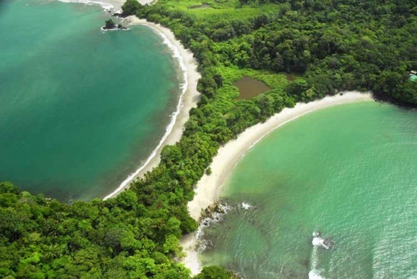 The famous Manuel Antonio National Park within walking distance