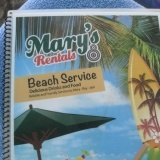 Widest variety of food and drinks! - Mary's Rentals has all your favorite beach food and much more!