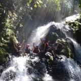 Waterfall swimming Pro Rafting CR