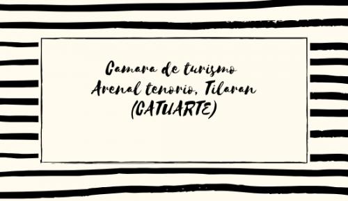 Camara de turismo Arenal tenor