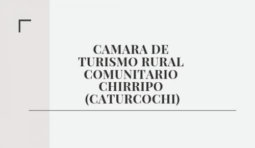Camara de Turismo Rural Comuni