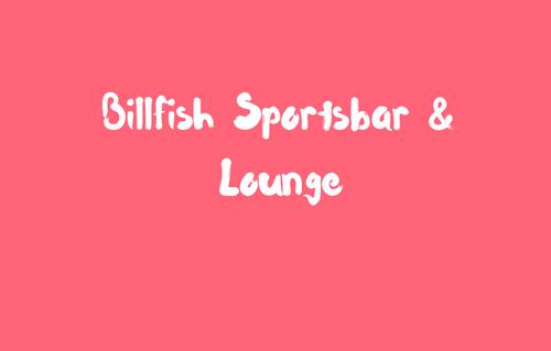 Billfish Sportsbar & Lounge