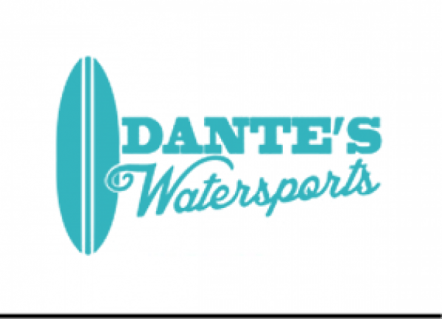 Dante's Watersports and surfing