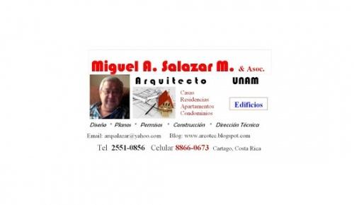 Arquitecto Miguel A. Salazar M