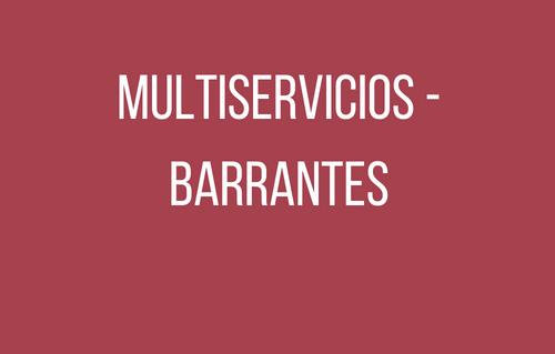 Multiservicios - Barrantes