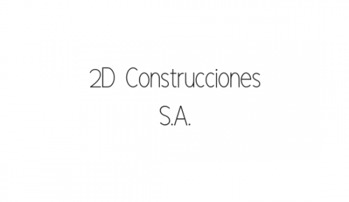 2D Construcciones S.A.
