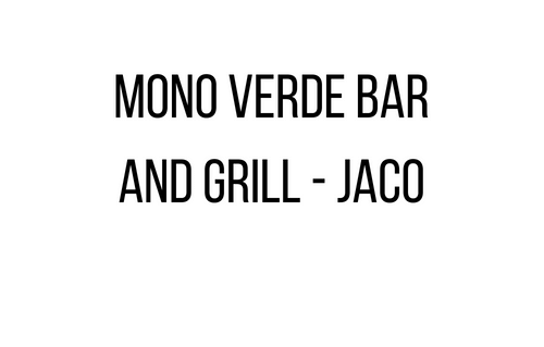 Mono Verde Bar and Grill - Jac