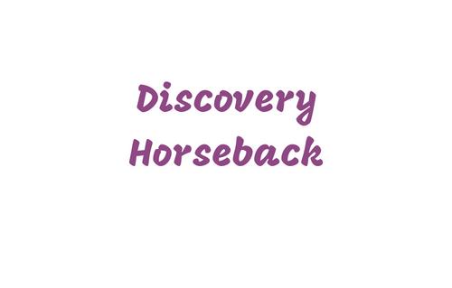 Discovery Horseback