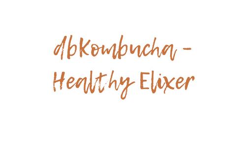 dbKombucha – healthy elixer