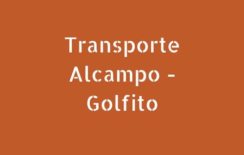 Transporte Alcampo - Golfito