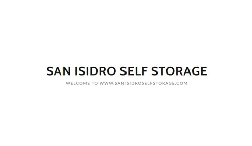 San Isidro Self Storage