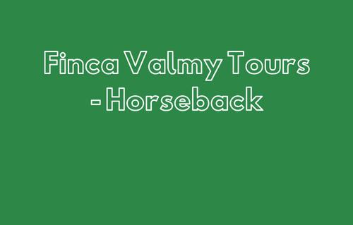 Finca Valmy Tours - Horseback
