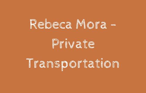 Rebeca Mora - Private Transpor