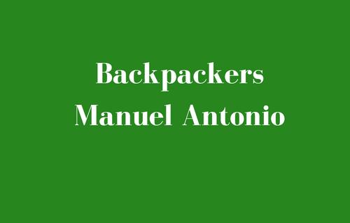 Backpackers Manuel Antonio