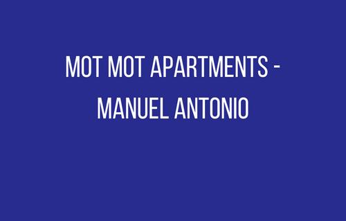 Mot Mot Apartments - Manuel An