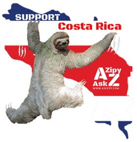 Support Costa Rica AskZipy